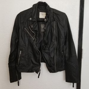 Abercrombie Leather Jacket